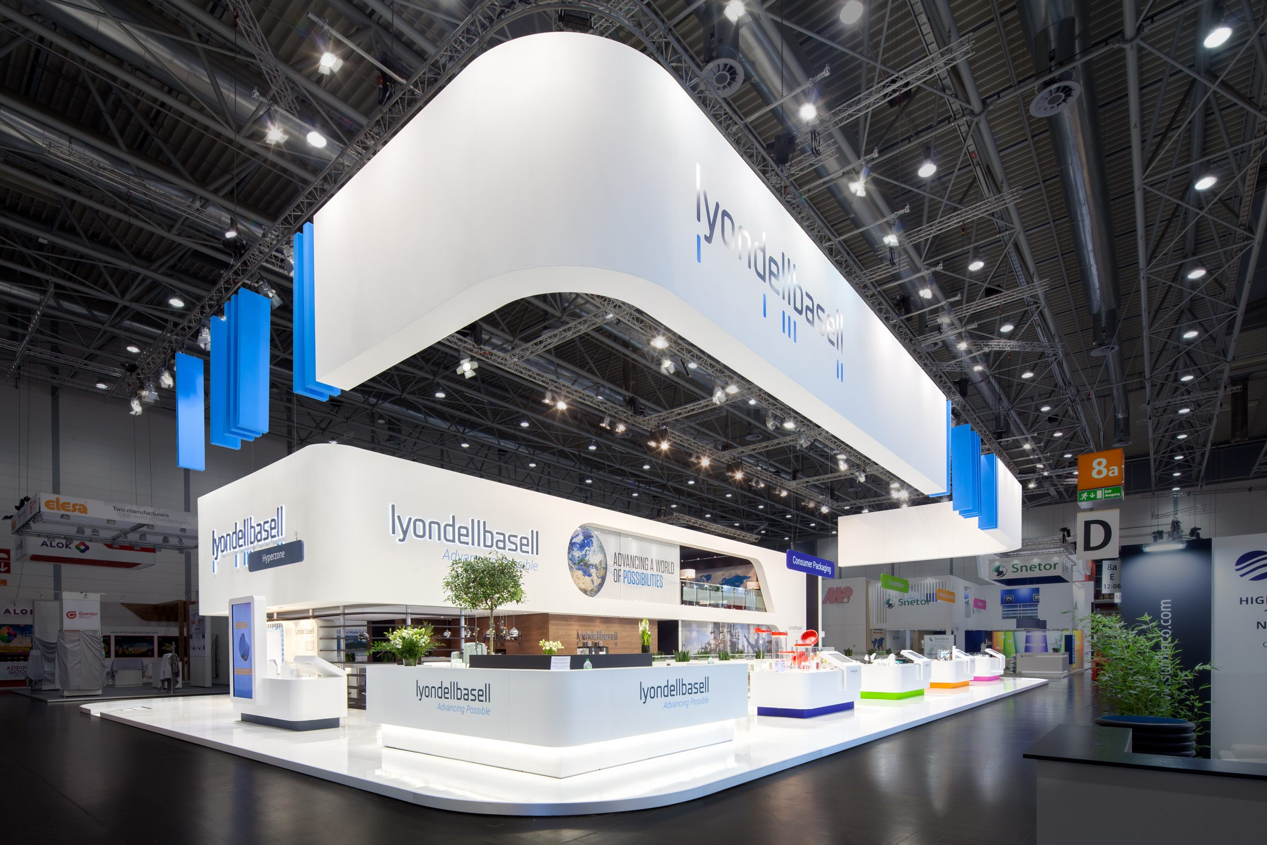 1 CAS Exhibition Partners - Lyondellbasell - K 2019 - Düsseldorf - Standbouwfotografie #9319