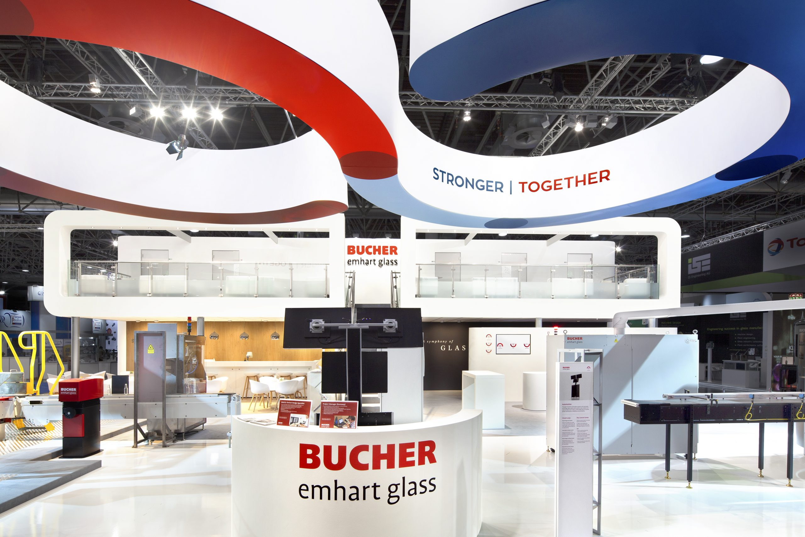 2 CAS Exhibition Partners - Bucher - Glasstec 2018 - Dusseldorf - Standbouwfotografie #0968