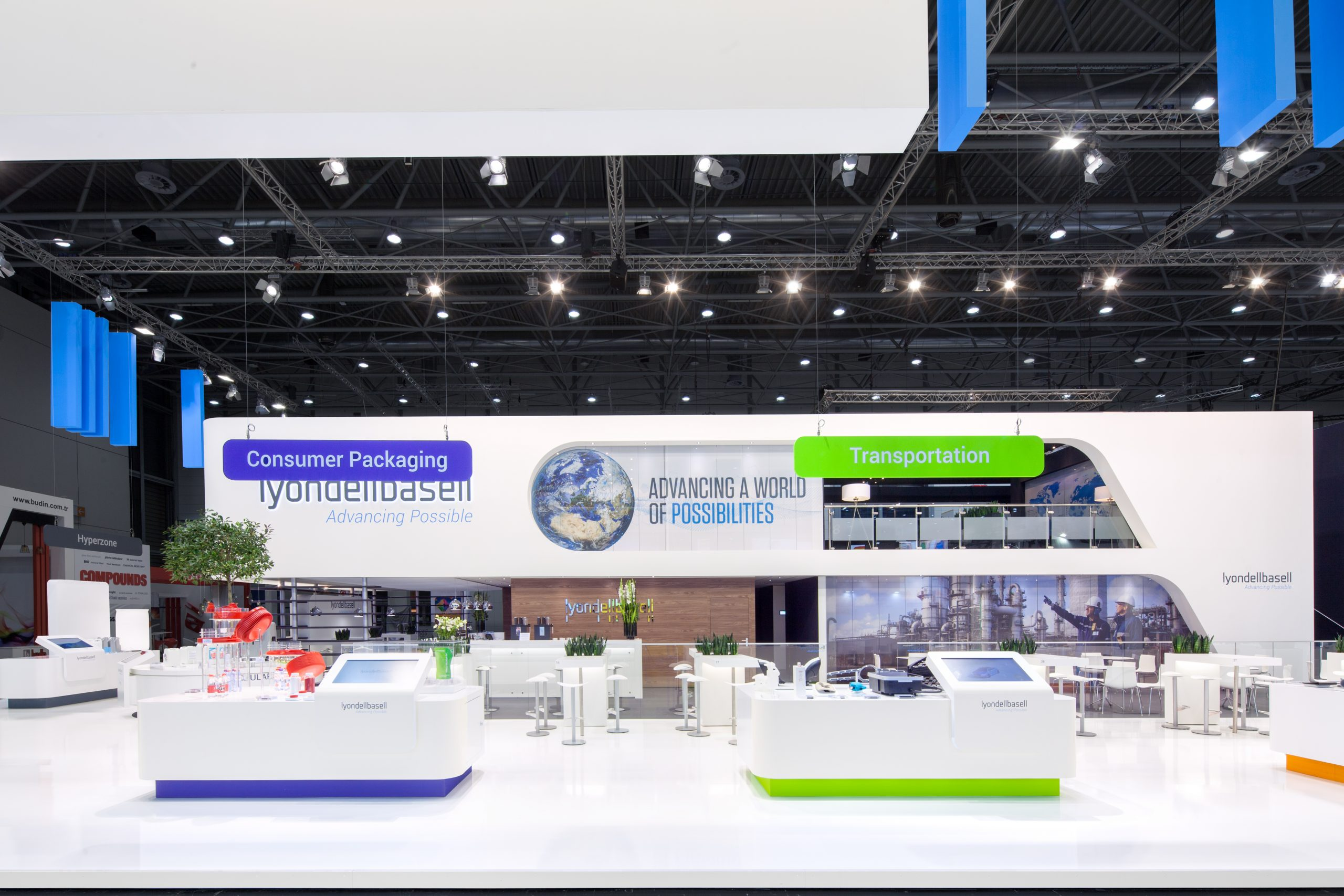 2 CAS Exhibition Partners - Lyondellbasell - K 2019 - Düsseldorf - Standbouwfotografie #9326