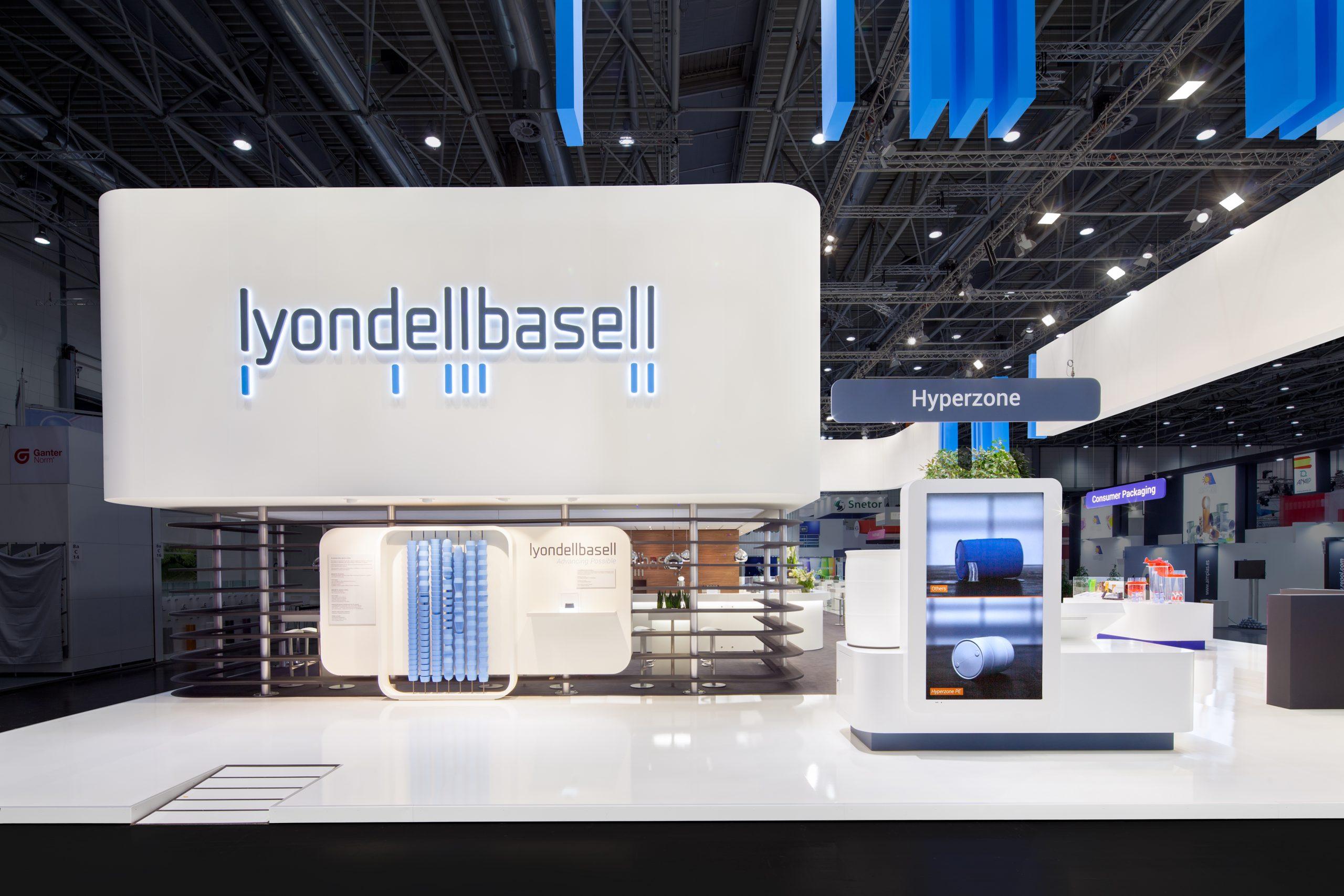 3 CAS Exhibition Partners - Lyondellbasell - K 2019 - Düsseldorf - Standbouwfotografie #9345