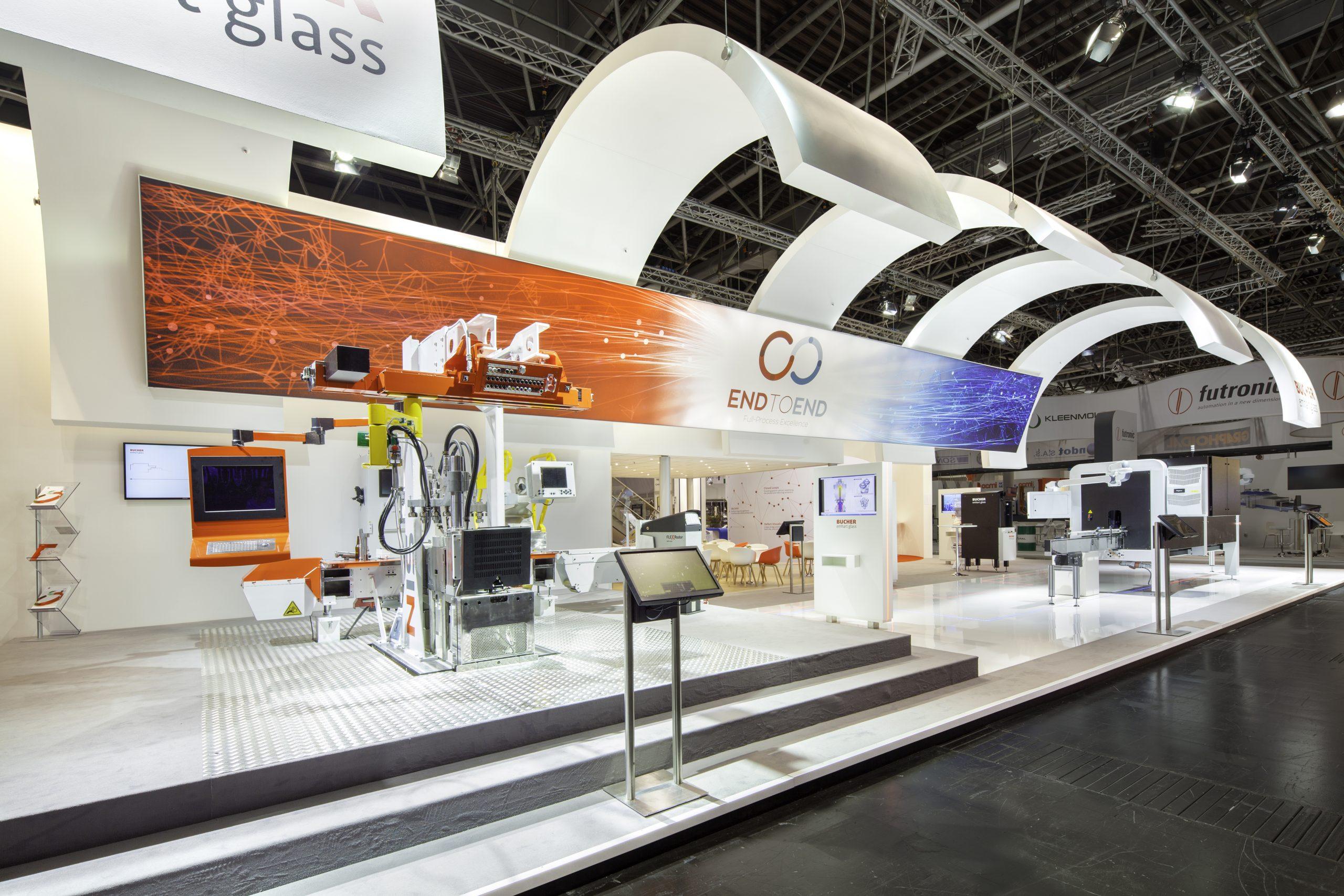 CAS Exhibition Partners - Bucher - Glasstec 2016 Duesseldorf - Standbouwfotografie #1612