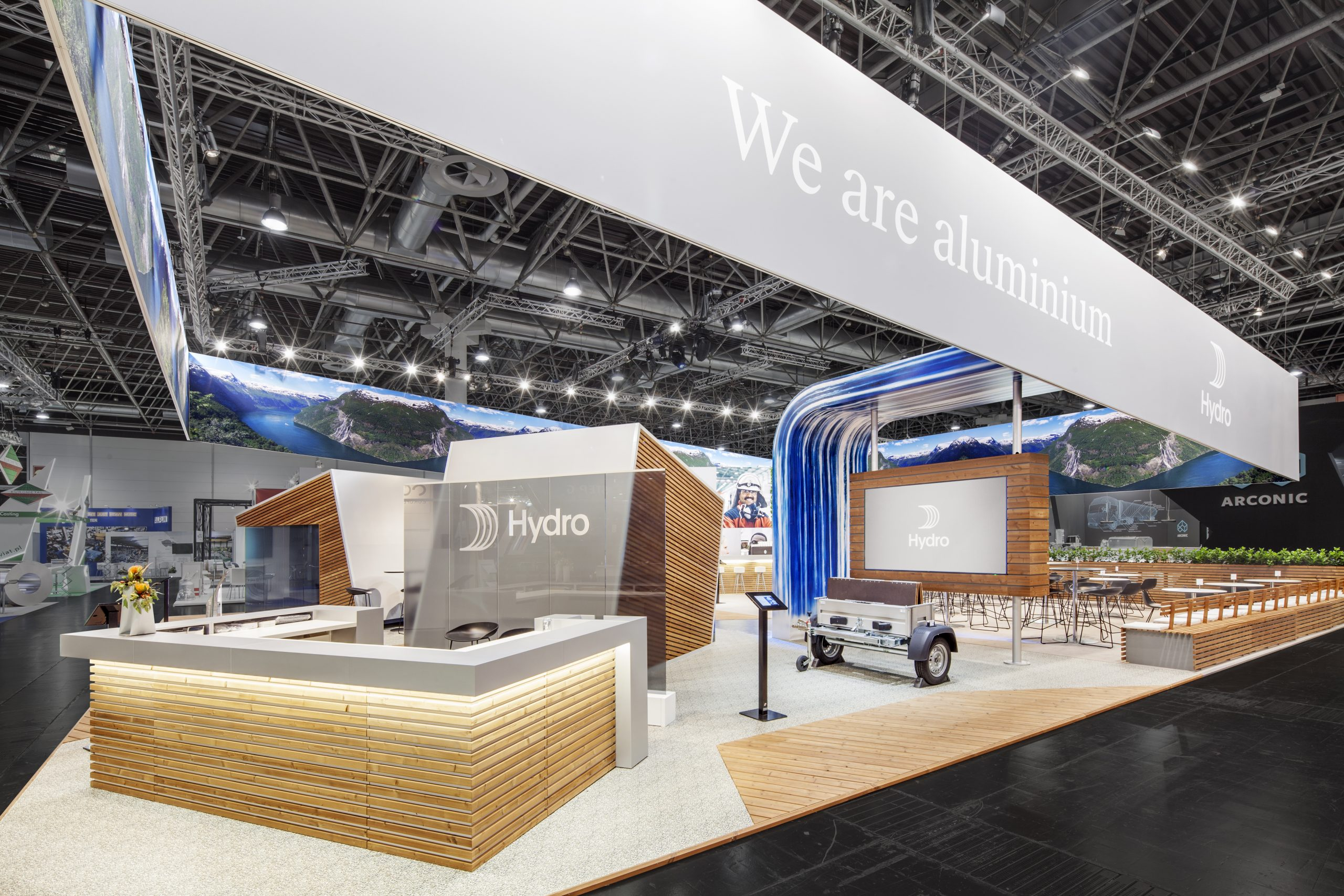 CAS Exhibition Partners - Hydro II - Aluminium 2018 - Düsseldorf - Standbouwfotografie #9882