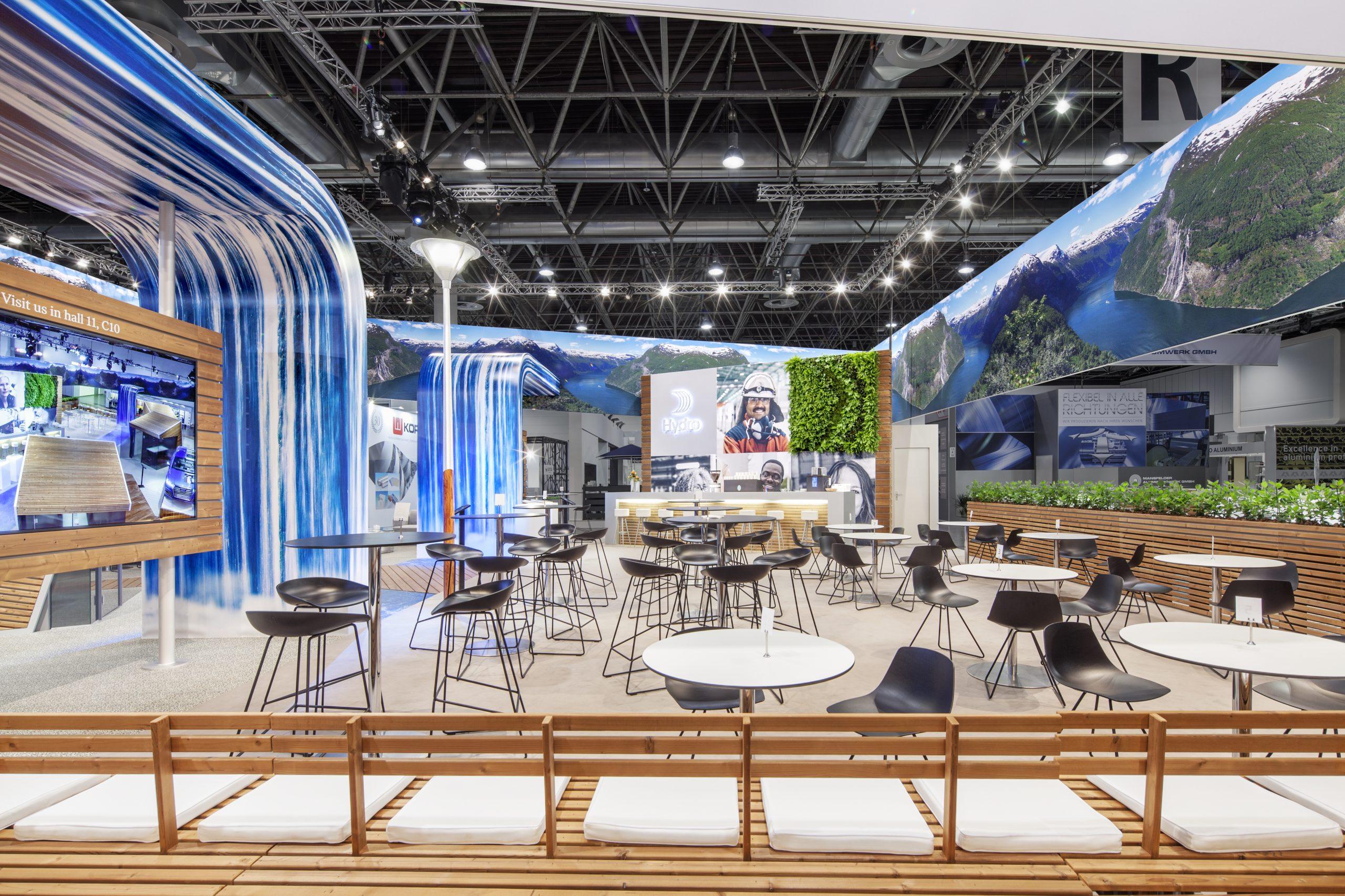 CAS Exhibition Partners - Hydro II - Aluminium 2018 - Düsseldorf - Standbouwfotografie #9891