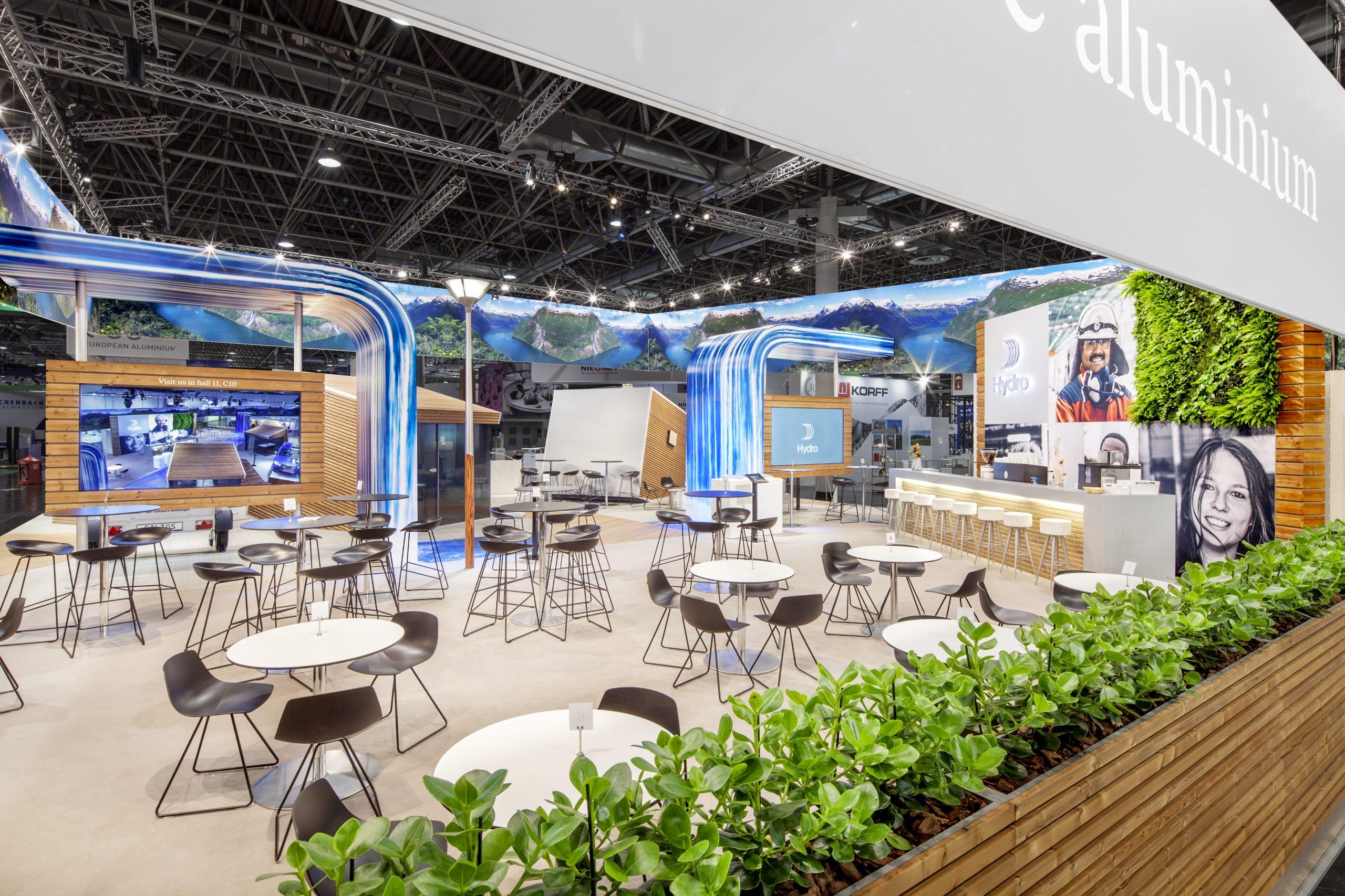 CAS Exhibition Partners - Hydro II - Aluminium 2018 - Düsseldorf - Standbouwfotografie #9897