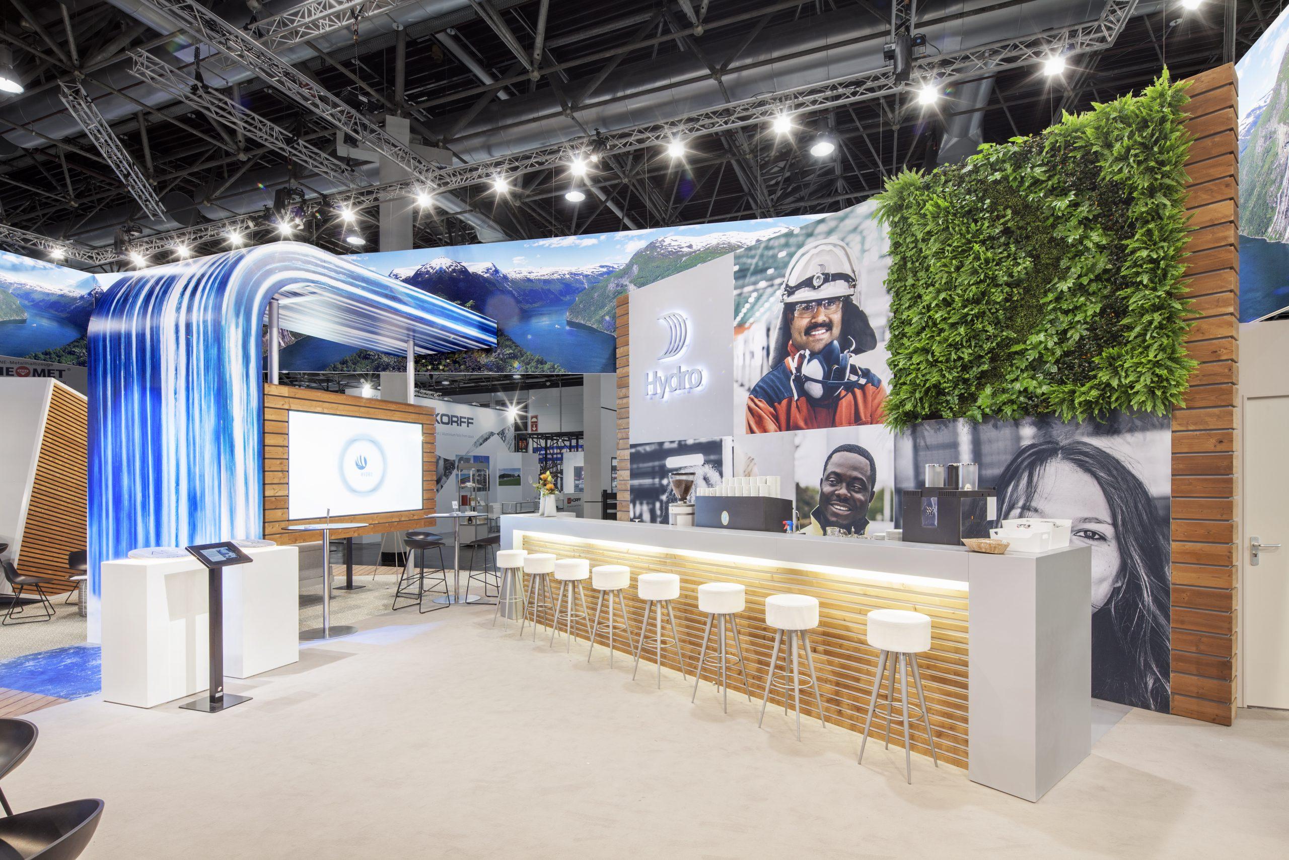 CAS Exhibition Partners - Hydro II - Aluminium 2018 - Düsseldorf - Standbouwfotografie #9900