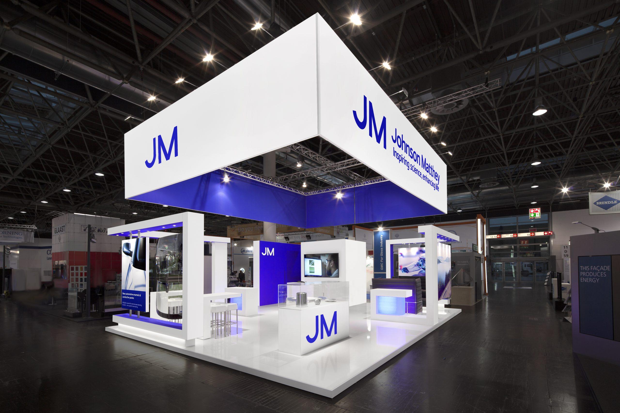 CAS Exhibition Partners - Johnson Matthey - Glasstec 2018 - Dusseldorf - Standbouwfotografie #0893