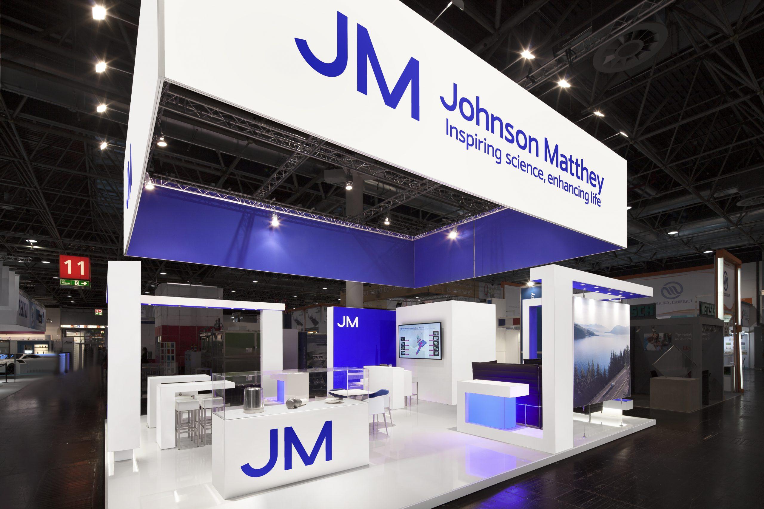 CAS Exhibition Partners - Johnson Matthey - Glasstec 2018 - Dusseldorf - Standbouwfotografie #0895