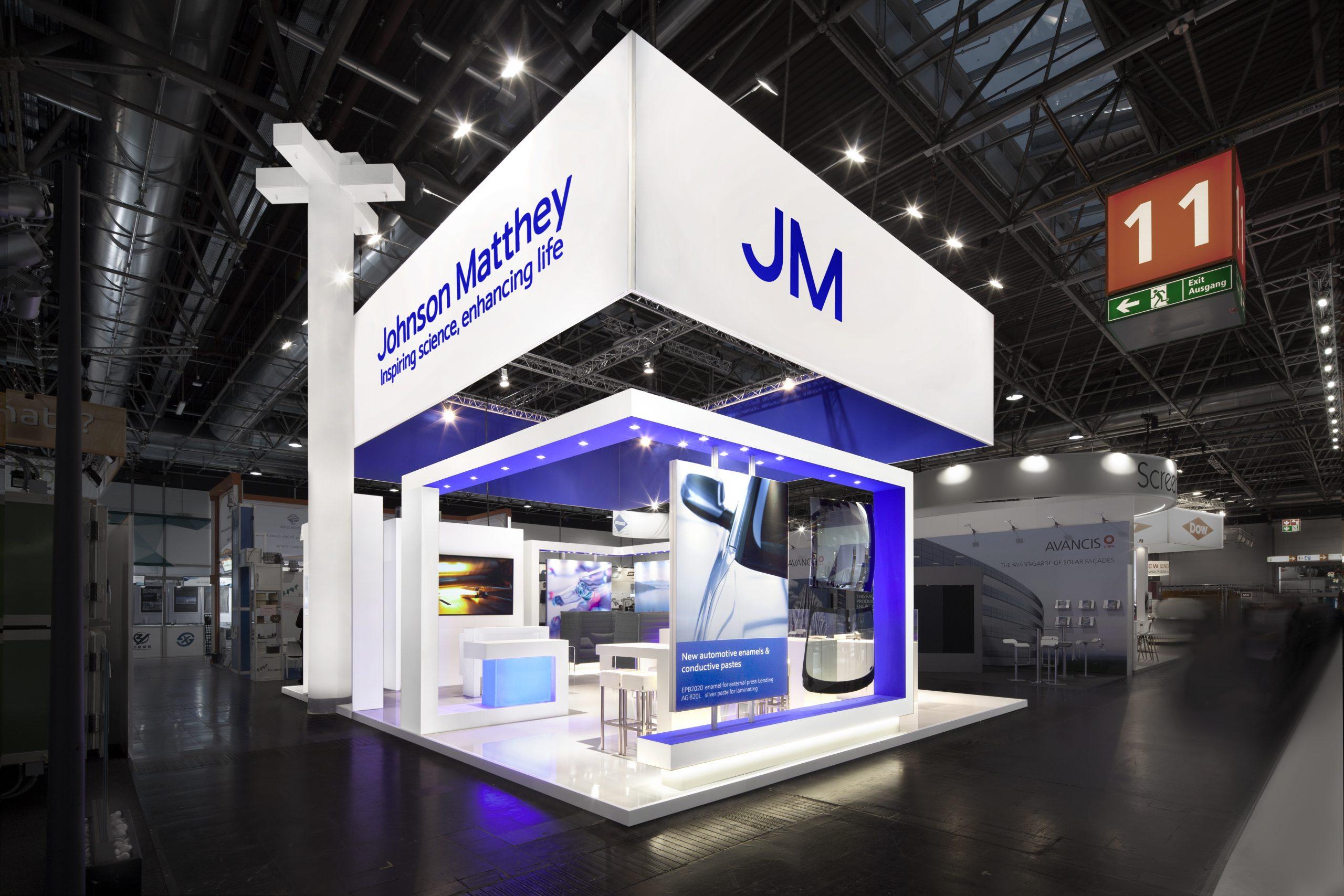CAS Exhibition Partners - Johnson Matthey - Glasstec 2018 - Dusseldorf - Standbouwfotografie #0902
